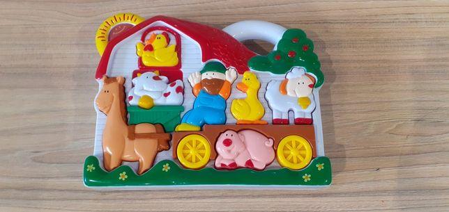 Zabawka farma dźwięki zwierząt