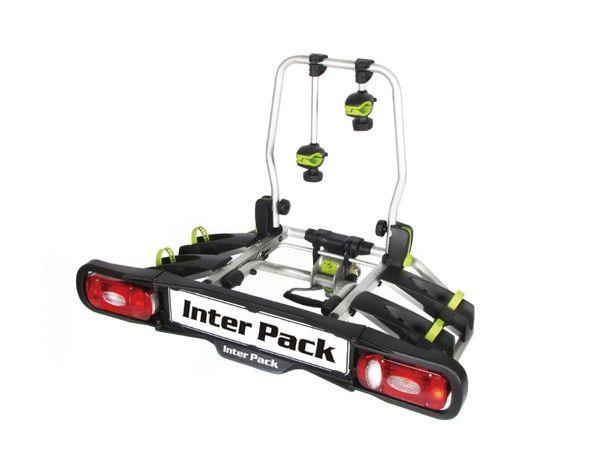 Bagażnik rowerowy na hak platforma InterPack Viking 2 rowery