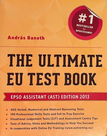 """Preparação para testes psicotécnicos.""""The ultimate EU Test Book"""""""