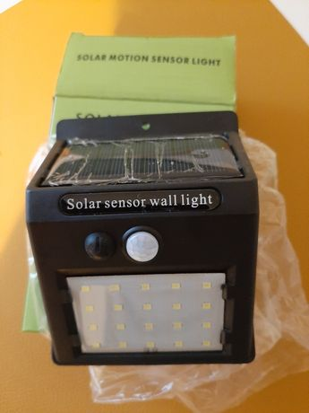 Lampa, solar powered led Wall light