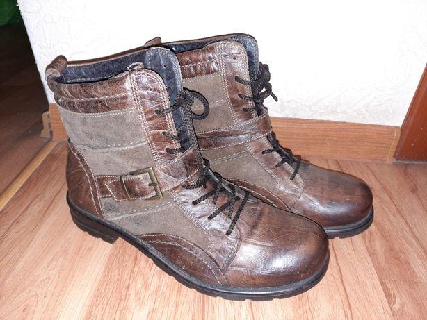 Ботинки кожа, 43р