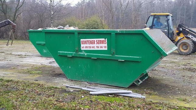 Wywóz i utylizacja odpadów budowlanych - gruz, papa, wełna kontener