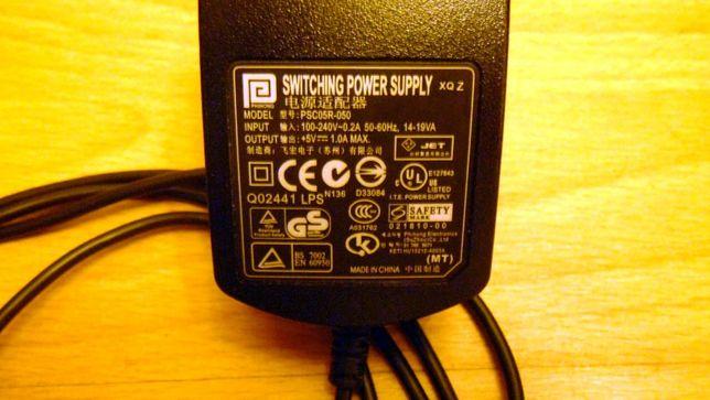 Ładowarka 5V i kabel USB (+kabel transmisji do Typhoon MyGuide)