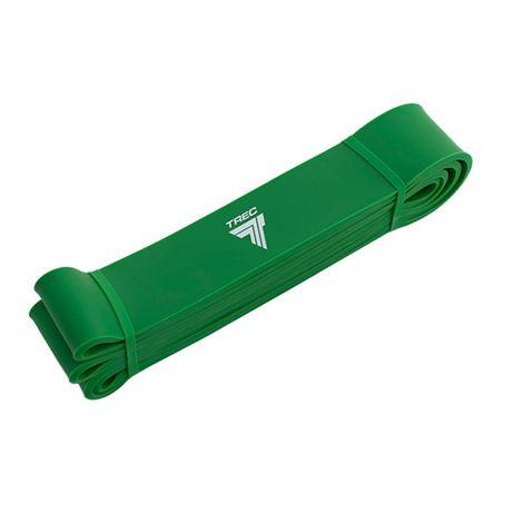 TREC Guma Treningowa Pull Up Band zielony Opór 22-56kg Trenuj w domu