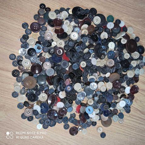 Guziki do ubrań różne kolory