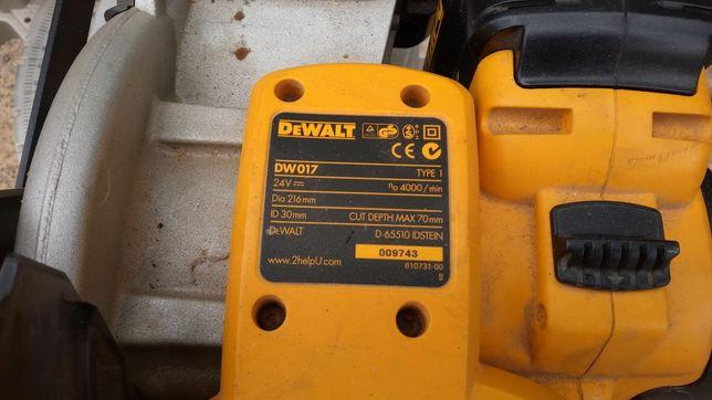 Пила торцовочная аккумуляторная Dewalt 24 вольта торцовка
