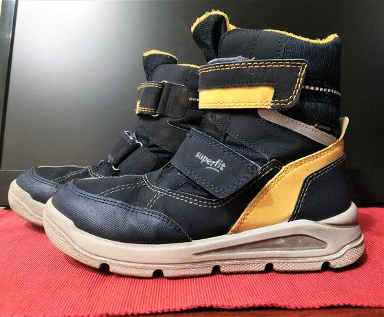 сапоги ботинки зимние superfit gore-tex  goretex 32 на липучках