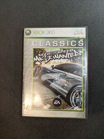 Need for speed most wanted XBOX 360 ENG