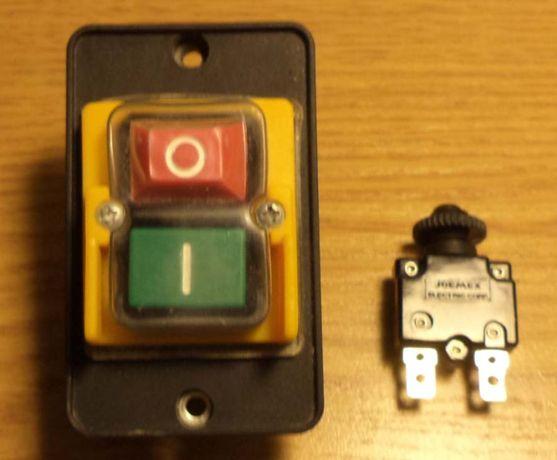 Włącznik + bezpiecznik do piły stołowej TITAN,MACALLISTR itp.