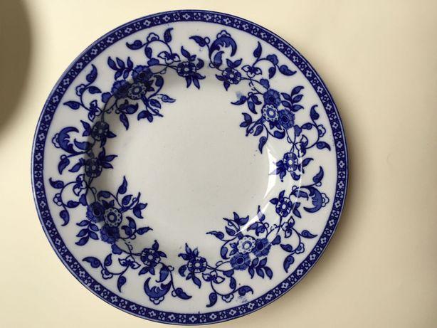 Porcelanowe talerze Wedgwood& Co Indiana 1880