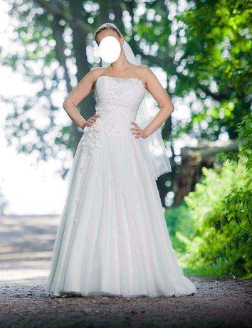 Suknia ślubna Papilio limitowana / welon + pokrowiec + przesyłka GRATI
