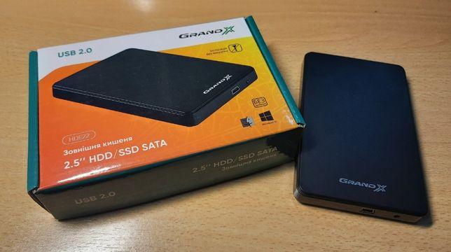 "USB HDD карман для внешнего диска 2,5"" с диском"