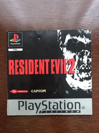 Manual Resident Evil 2 playstation 1 psone