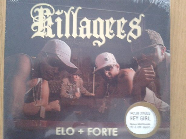 CD Killagees Elo + Forte rap tuga Selado