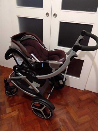 Carrinho de Bebé, Ovo e AutoFix Chicco Artic Stroller 3in1