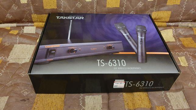 Продaм новые радиомикрофоны (2 шт) Takstar TS 6310 HH. Лучшая цена!
