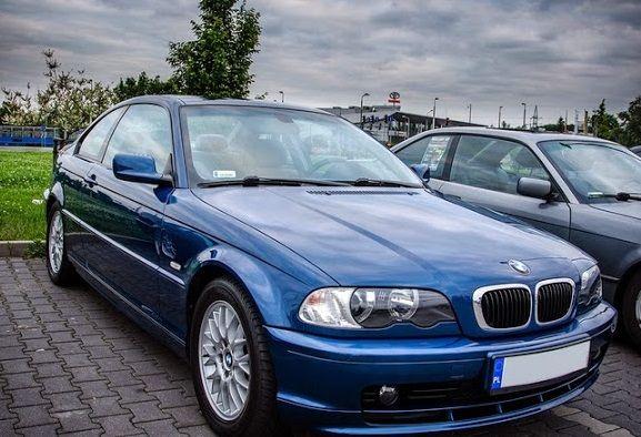 BMW E46 Coupe TOPAZBLAU Maska Błotniki Zderzak Klapa OKAZJA!!!