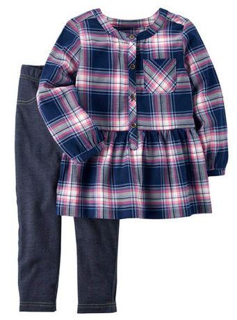 Новый костюм Carter's (США) для девочки 1-2 года