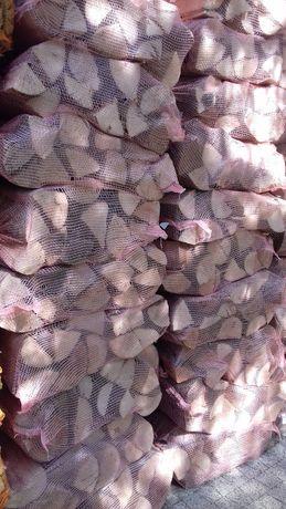 Drewno opałowe, kominkowe BUK 30cm szczapy worki