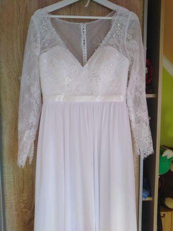 Piękna suknia ślubna! NOWA!!!