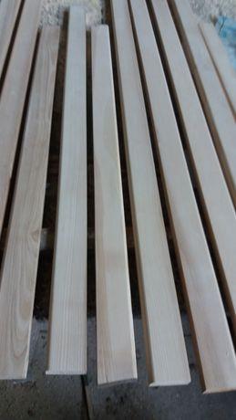 Плинтус напольный деревянный ясень новый