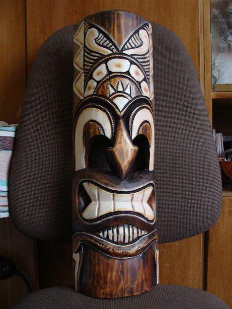 Drewniana ozdobna maska na ściane (proszę czytać opis)