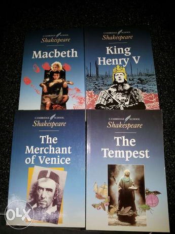 Livros Shakespeare
