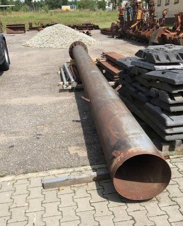 Komin przemysłowy stalowy 8,9 m , średnica 470 mm *TRANSPORT*