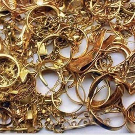 Złoto złom od 585