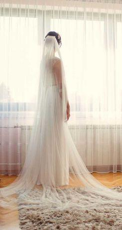 Sprzedam suknię ślubną z welonem