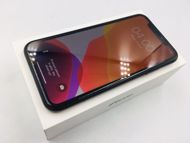 iPhone 11 64GB BLACK • PROMOCJA • GW do 27.11.20 • AppleCentrum