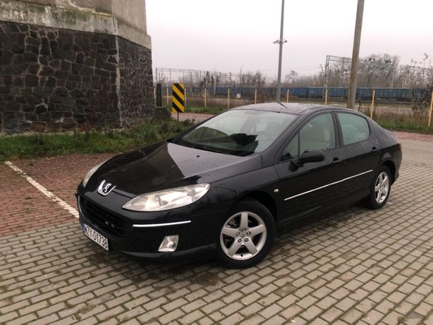 Peugeot 407 1,8 benzyna 2005r.