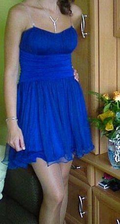 Chabrowa sukienka rozmiar M