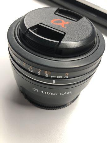 Объектив Sony 50/1.8 DT SAM