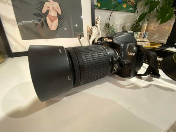 Nikon D3000 + 2 obiektywy !