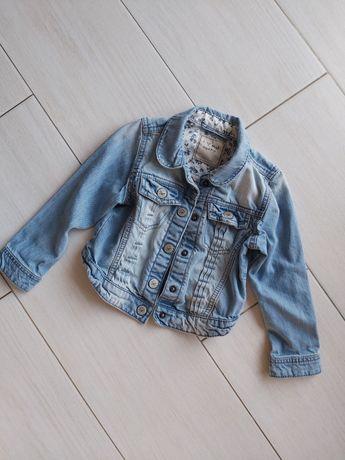 Kurtka katana jeansowa next 104