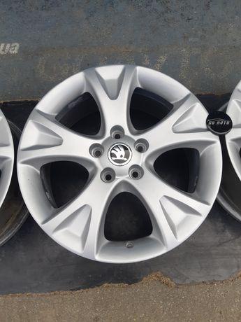 Goauto комплект оригинальных дисков Skoda A5 5/112 r17 et54 7j dia57.1