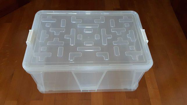 Caixa contentor de arrumação grande