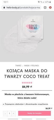 Sprzedam maske do twarzy hellobody coco treat