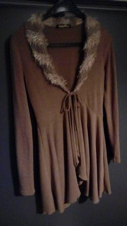 sweter/narzutka bolerko kardigan M/L