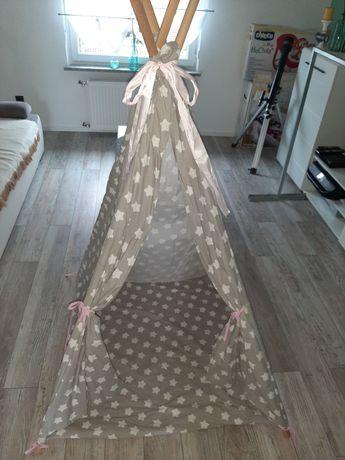 Namiot dla dziewczynki gwiazdki TIPI