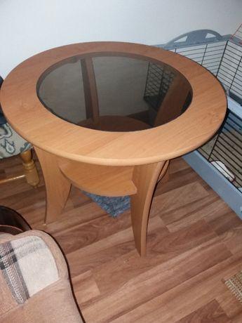 meble pokojowe stół plus fotele