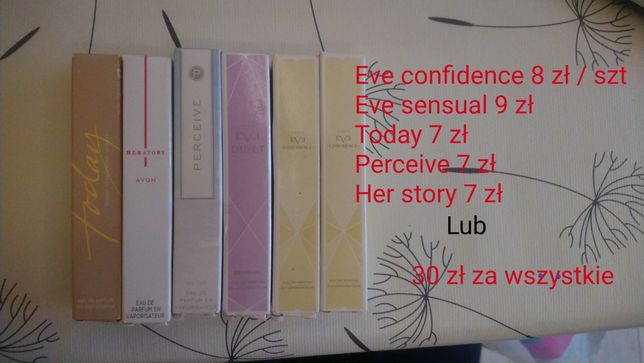Perdumetka avon 10 ml eve confidence her story today perceive