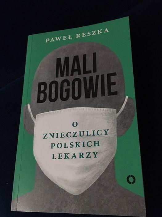 Książka Mali Bogowie o znieczulicy polskich lekarzy Częstochowa - image 1