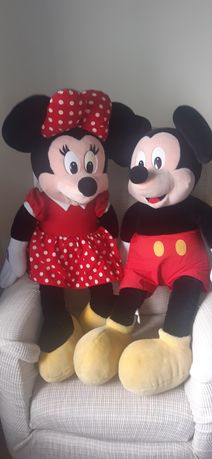 Peluches Mickey e Minnie