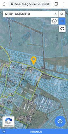Продам участок под застройку 12соток с. Майдановка Киевская область
