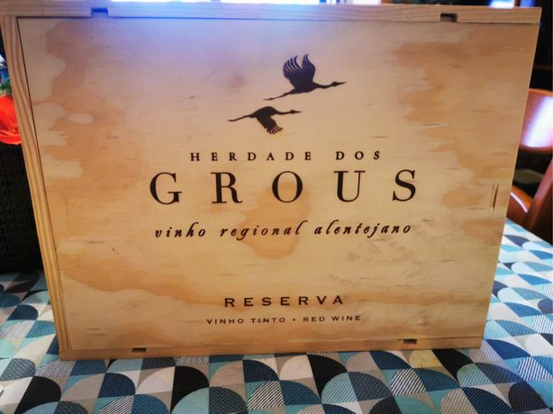 Pack de vinho de reserva Herdade de Grous