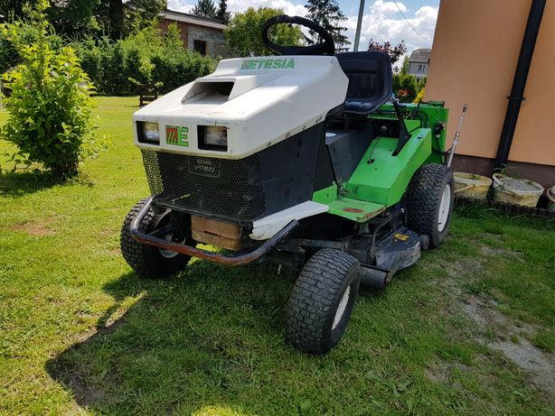 Traktorek Kosiarka Etesia Hydro 100 - Kosisko - Agregat Tnący - Tunel