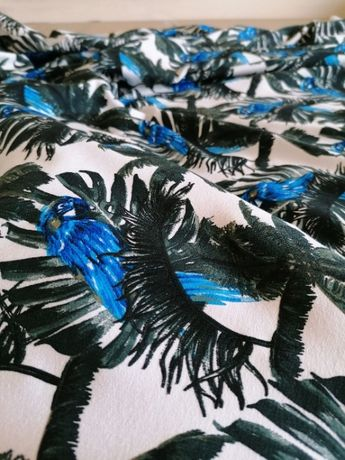 papuga dresówka bawełna 220g- 1szt / 0,5m materiał