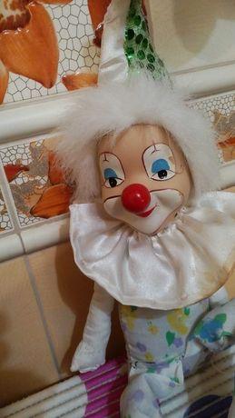 Кукла клоун 47см.